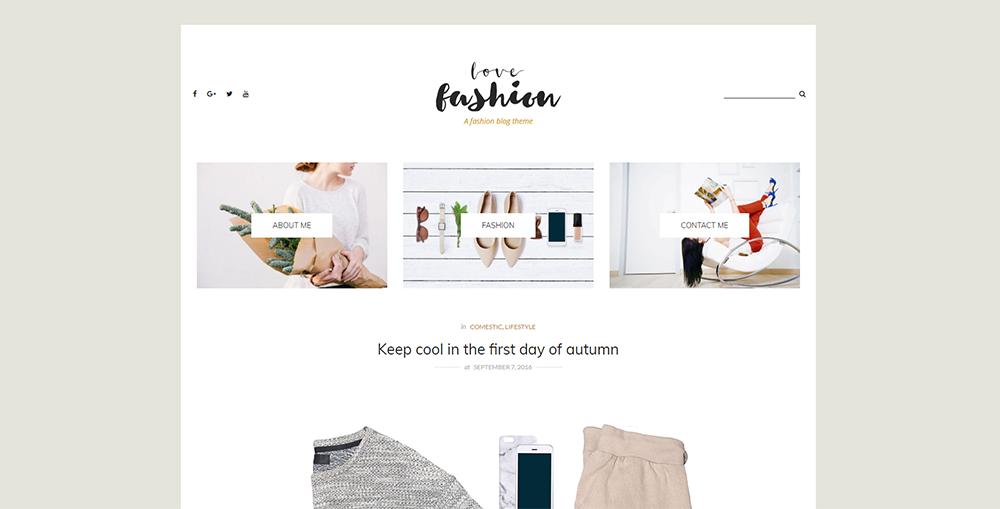 Sixty Eight Ave - love fashion wordpress theme