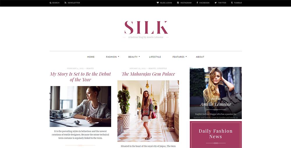 Sixty Eight Ave - silk wordpress theme