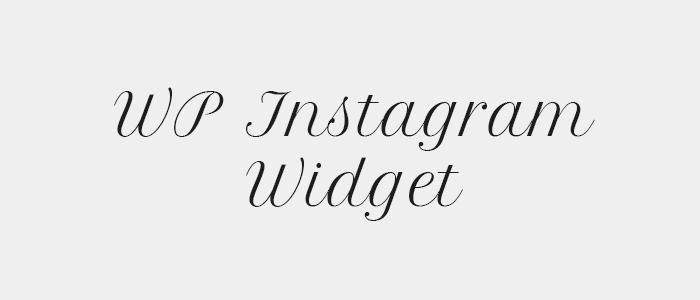Sixty Eight Ave - Useful WordPress Plugins - WP Instagram Widget