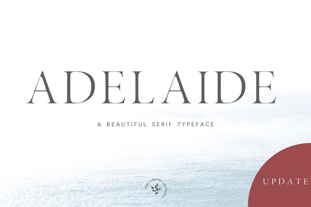 Sixty Eight Ave - 100 Stylish Fonts - Adelaide