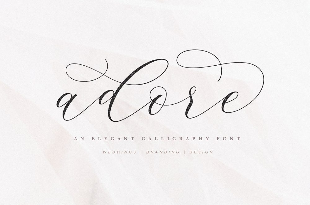 Sixty Eight Ave - 100 Stylish Fonts - Adore