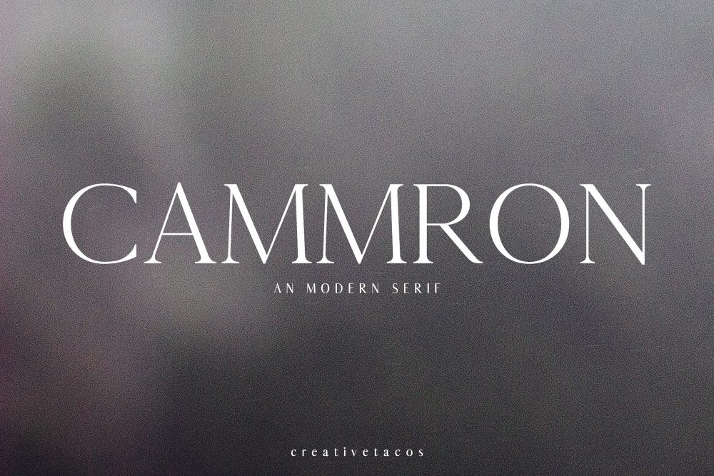 Sixty Eight Ave - 100 Stylish Fonts - Cammron