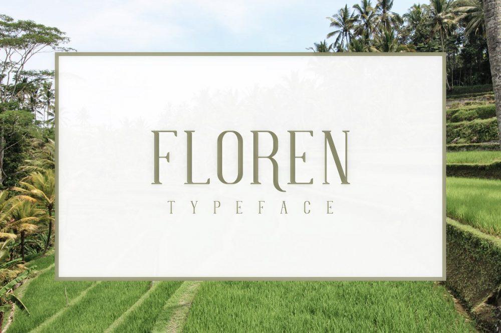Sixty Eight Ave - 100 Stylish Fonts - Floren