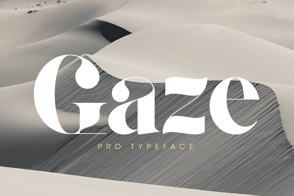 Sixty Eight Ave - 100 Stylish Fonts - Gaze