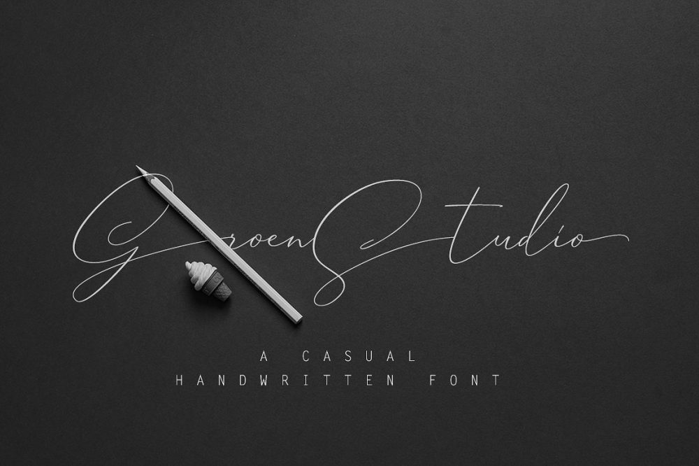 Sixty Eight Ave - 100 Stylish Fonts - Groen Studio