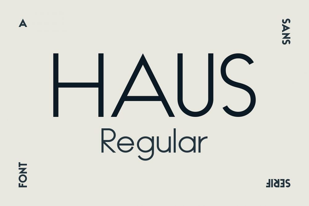 Sixty Eight Ave - 100 Stylish Fonts - Haus