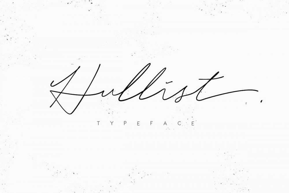 Sixty Eight Ave - 100 Stylish Fonts - Hullist