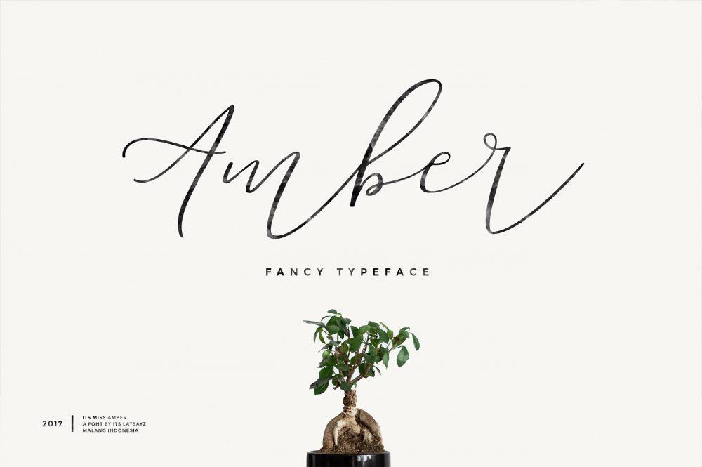 Sixty Eight Ave - 100 Stylish Fonts - Amber