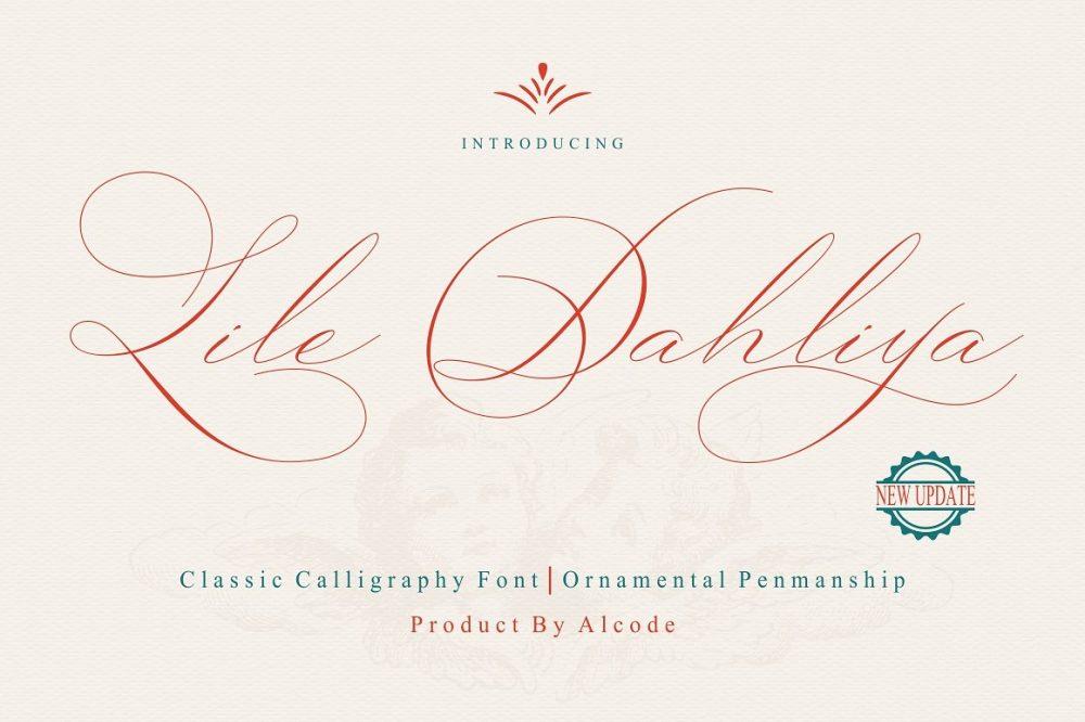 Sixty Eight Ave - 100 Stylish Fonts - Lile Dahliya