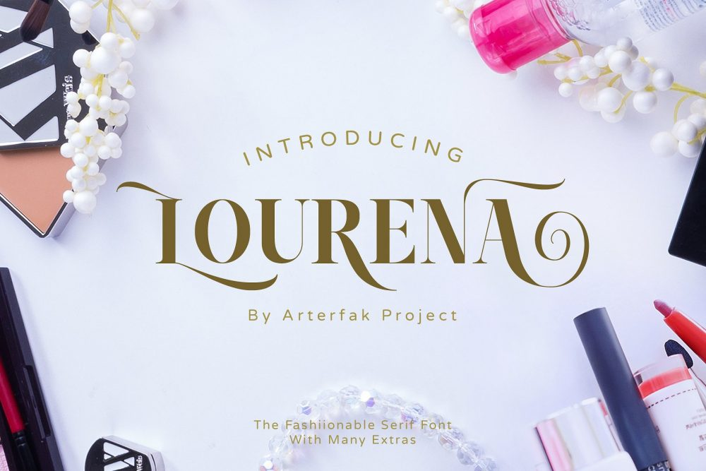 Sixty Eight Ave - 100 Stylish Fonts - Lourena