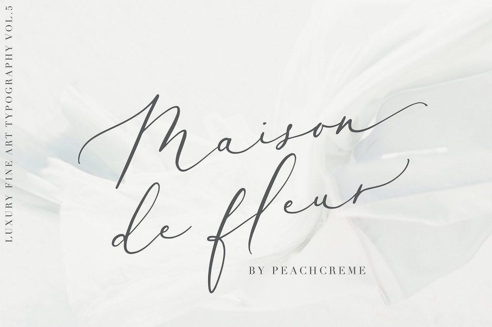 Sixty Eight Ave - 100 Stylish Fonts - Maison De Fleur