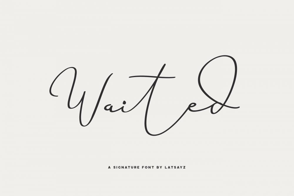 Sixty Eight Ave - 100 Stylish Fonts - Miss Waited