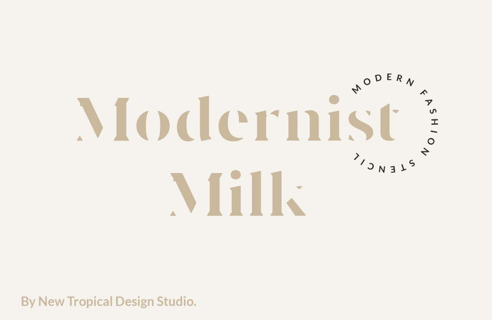 Modernist Milk