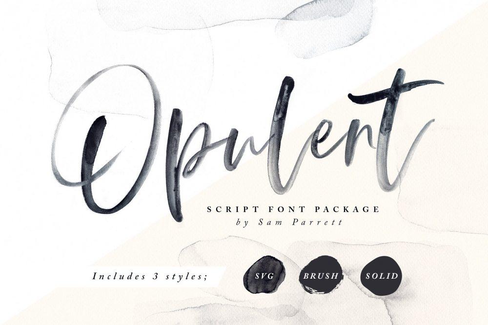 Sixty Eight Ave - 100 Stylish Fonts - opulent