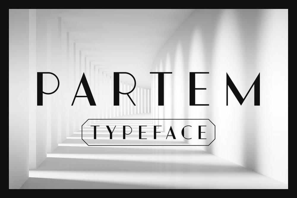 Sixty Eight Ave - 100 Stylish Fonts - Partem Typeface