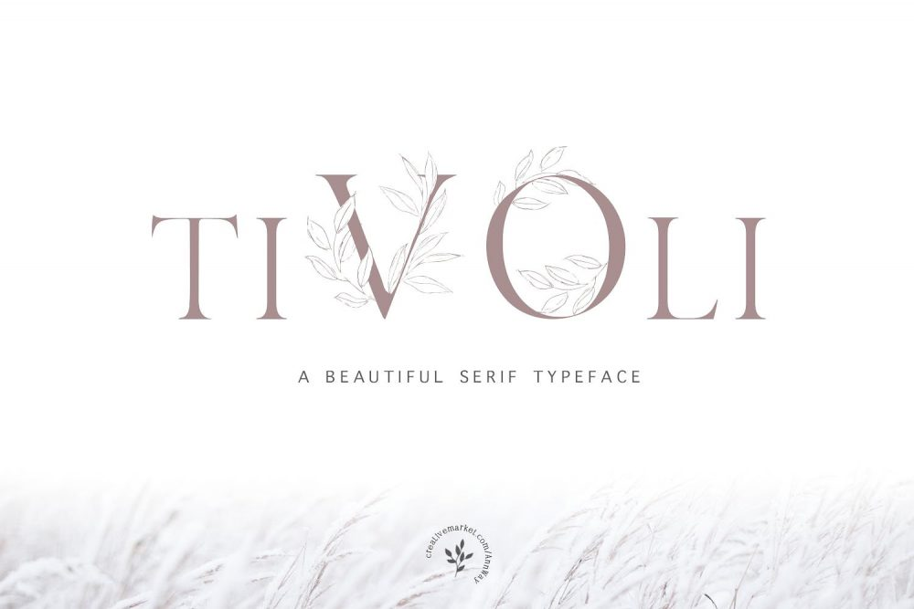 Sixty Eight Ave - 100 Stylish Fonts - Tivoli