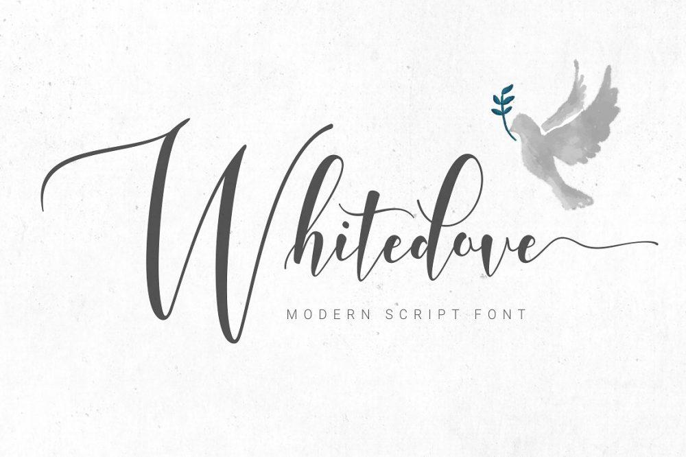 Sixty Eight Ave - 100 Stylish Fonts - Whitedove