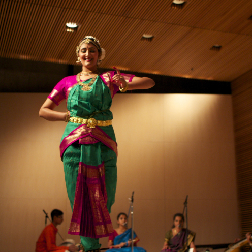 Fundraiser for Move Up - 4:00pm at Tateuchi Hall, Mountain ViewSaturday, September 21st, 2014illumi organized a one hour fundraising event. This event featured Ambika as the solo dancer. $4500 was raised in one evening and all of the proceeds were donated to support the work of Move Up, an organization dedicated to the cause of economic empowerment for underserved women in Bay Area.