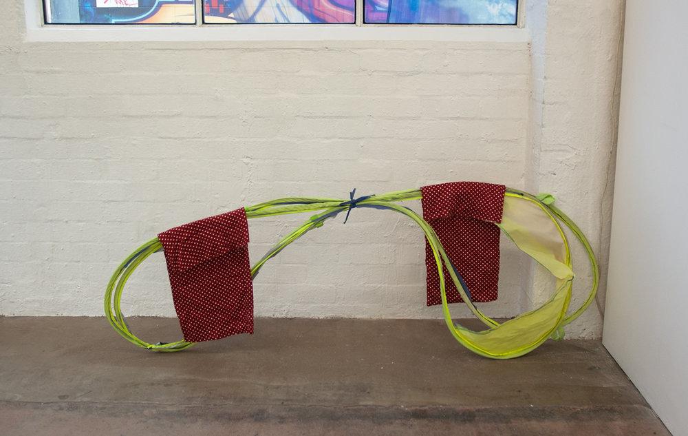 Aviator, 2013  tent frame, cotton pant bottoms