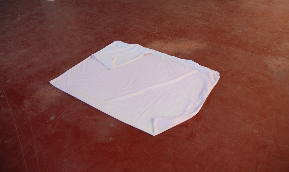 untitled, 2013  sun faded doona cover