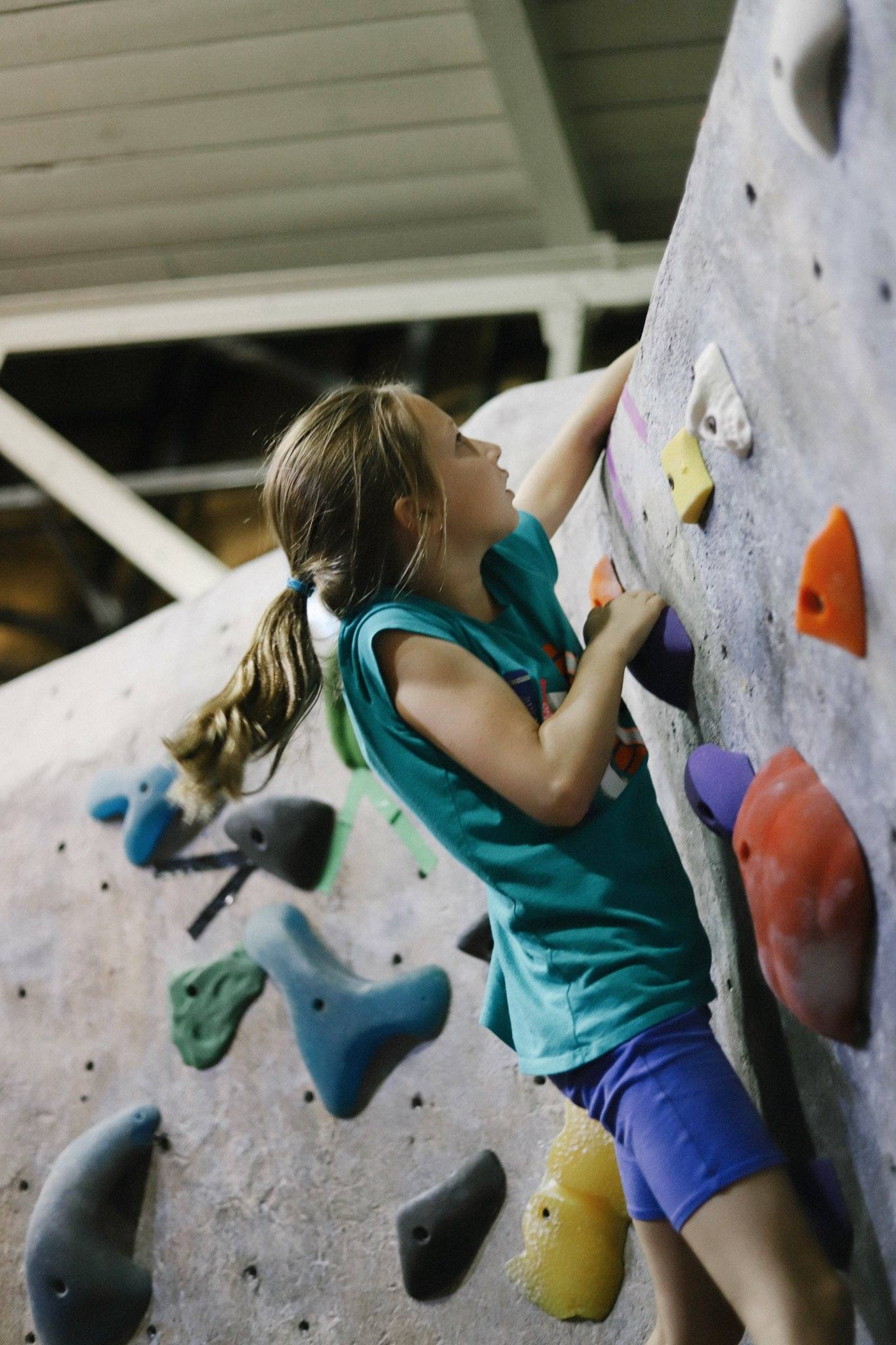 Hone Problem Solving Skills - Every climb is a puzzle waiting to be solved. Youth will learn critical thinking skills and visualization techniques to master their projects.