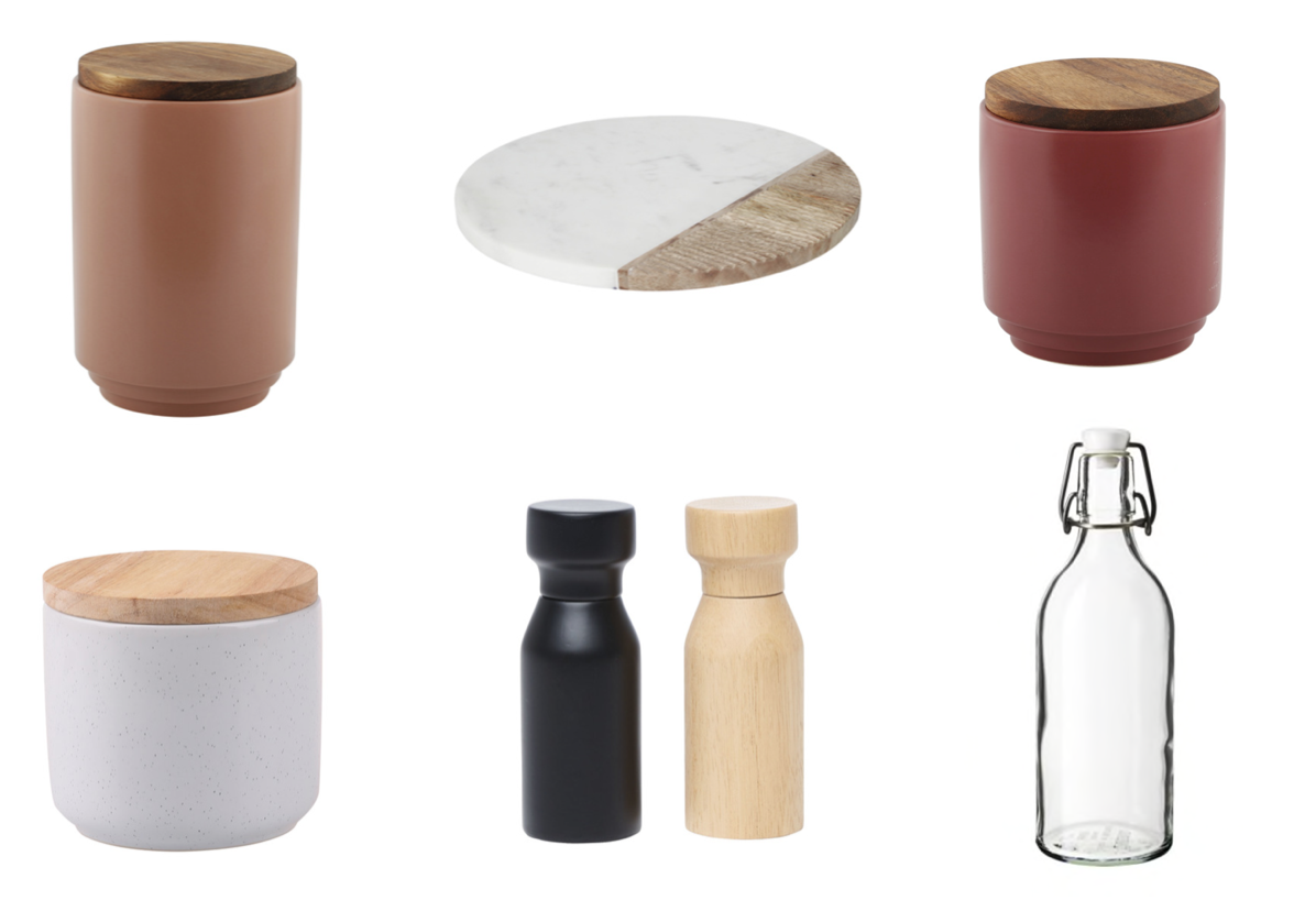 H&C; SAVVY STYLING FOR YOUR KITCHEN BENCH; CONDIMENT STYLING.png
