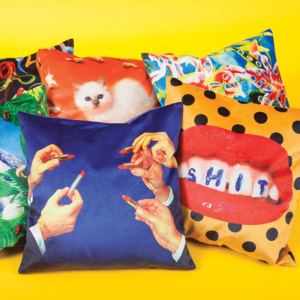 Seletti x Toiletpaper: Cushions Collection