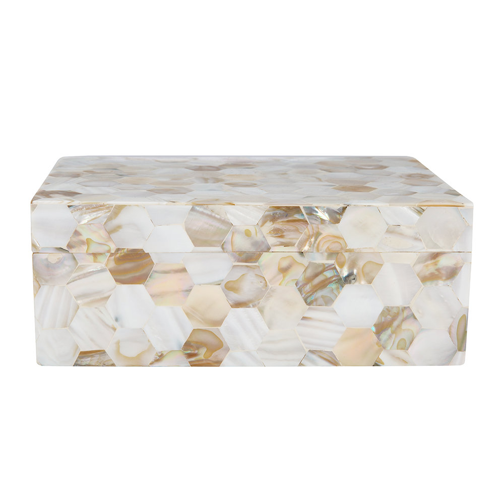 Mother of Pearl Box by A by Amara