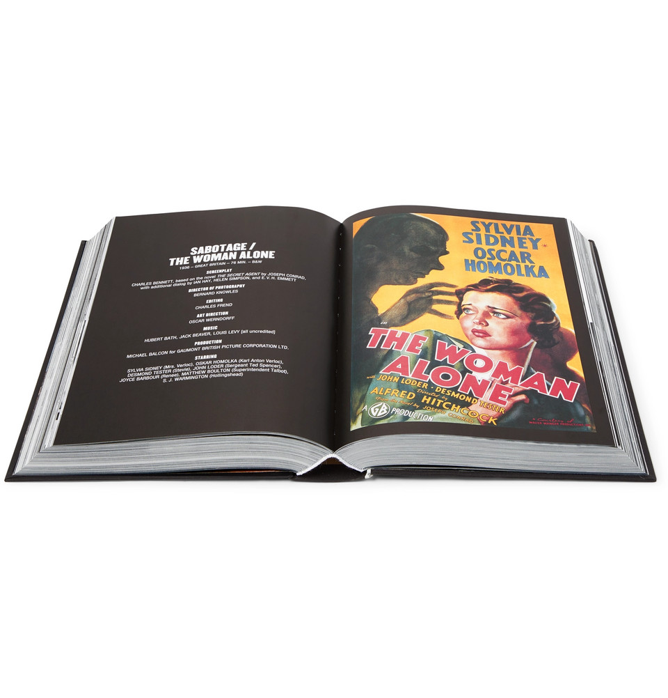 Alfred Hitchcock: The Complete Films Hardcover Book