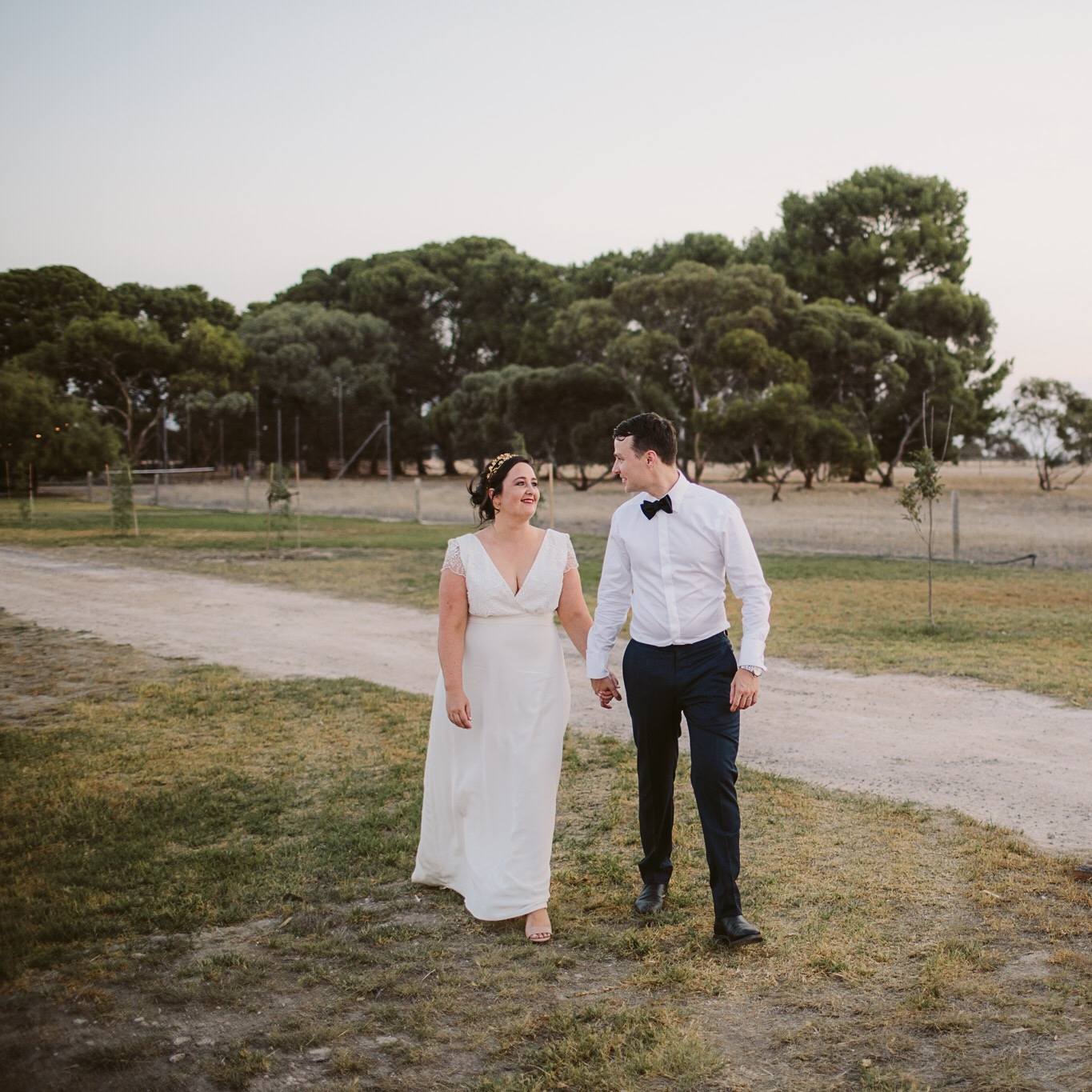 Our wedding was at my family home in country South Australia. Photo by Kate Pardey
