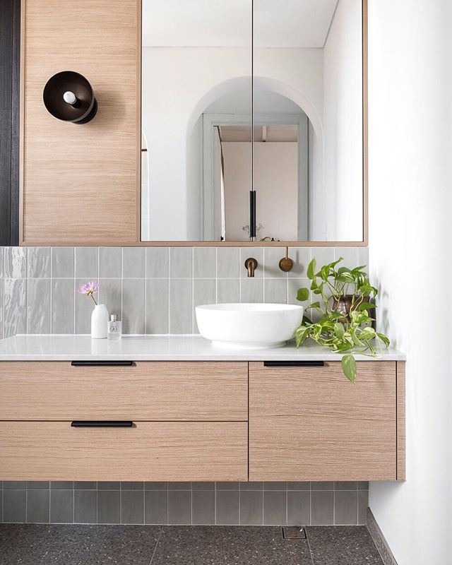[ C R O W D . P L E A S E R ] This compact en-suite from our #GillespieHousebySA is an all time fave and sure packs a punch with clever details and beautifully considered finishes . A space I wouldn't mind calling my own! . 📷 @dionrobeson / styling @annapearlflanders . . . #StudioAtelierDesign #SAprojects #buildingdesign #architecture #interiordesign #houzzau #BDAWA #architectureaustralia #pertharchitecture #modernarchitecture #renovation #archilovers #perthinteriors #perthhomes