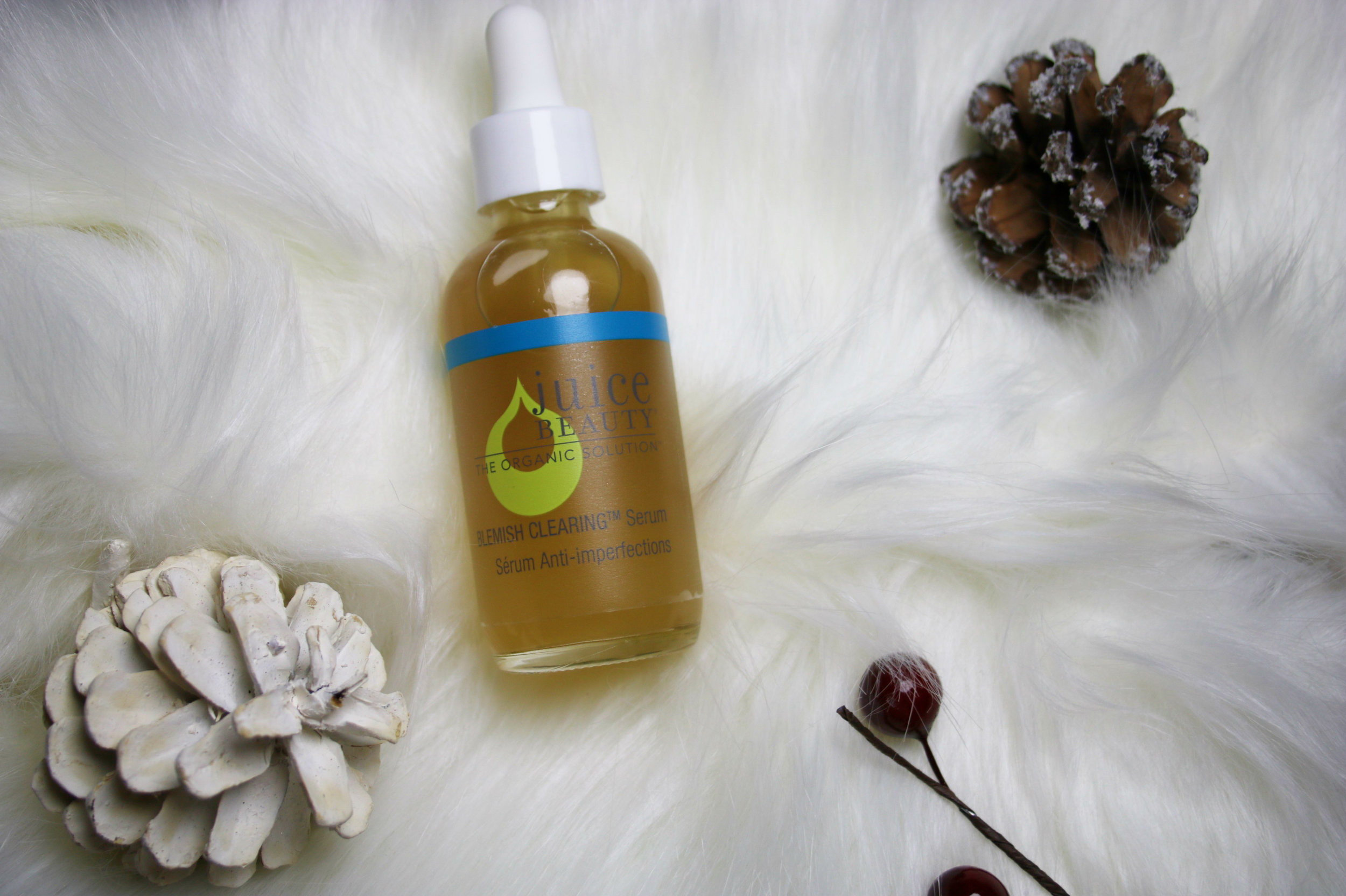 juice beauty product review, juice beauty review, juice beauty blemish clearing serum, juice beauty serum, organic skin care product, natural skin care product, juice beauty, skin care for combination skin