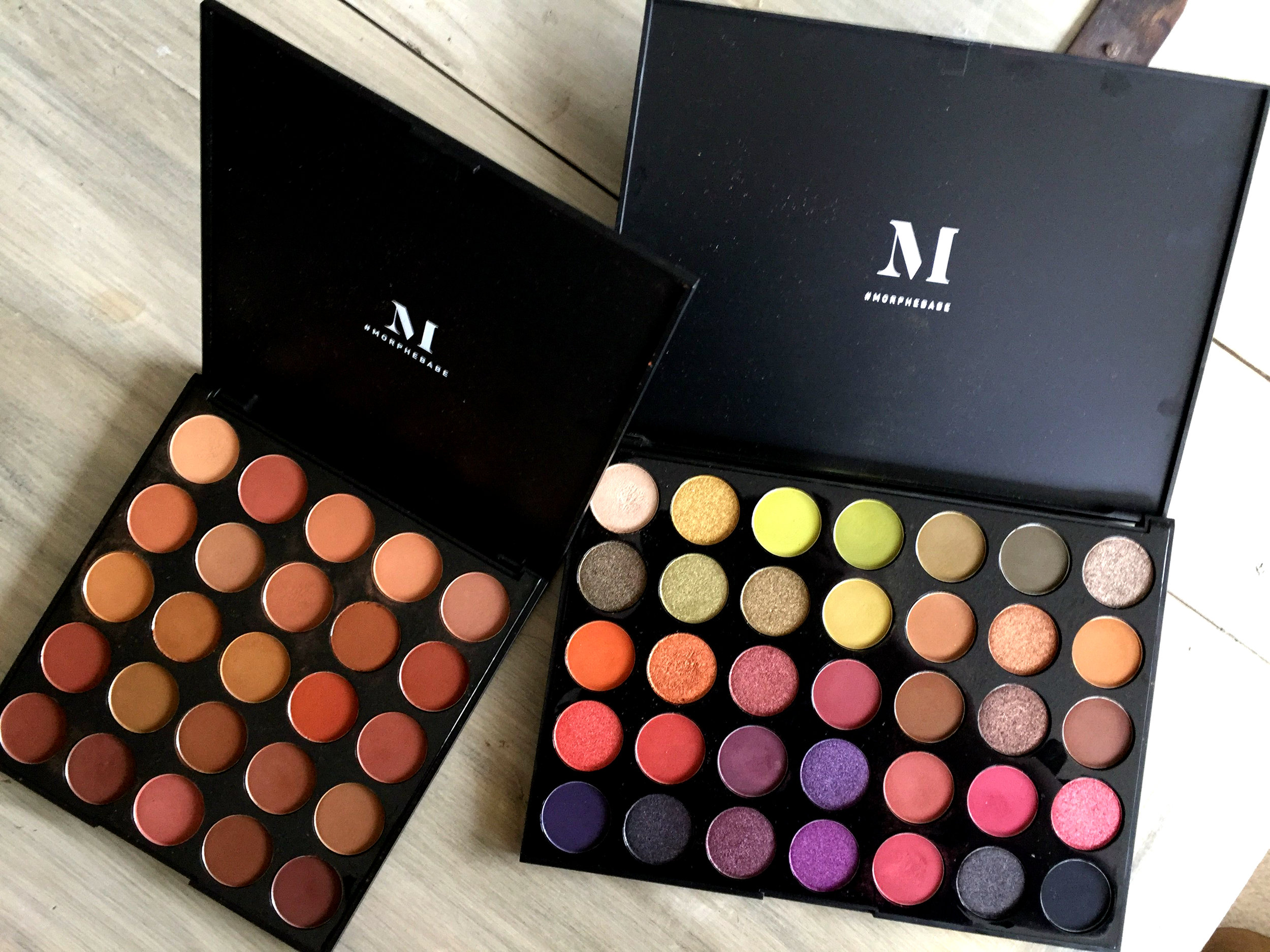 followed makeup tutorials on youtube, youtube makeup tutorial, makeup tutorial using morphe palette, morphe 60 shades of slay review, morphe makeup product review
