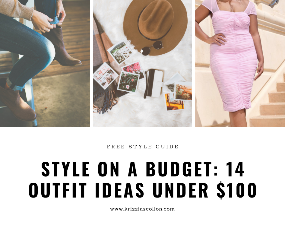free style guide, style on a budget, style under 100, outfit ideas under 100, head to toe outfit ideas, budget shopping