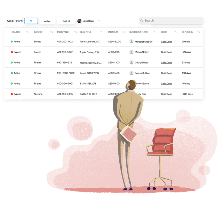 Automated workflows, designed by brokers. - TASKS & REMINDERSFelix automatically creates tasks for your team so everyone has an up to date to-do list to work from.RENEWALSClients that are up for renewal automatically have new deals created for them so your team never misses a sale.