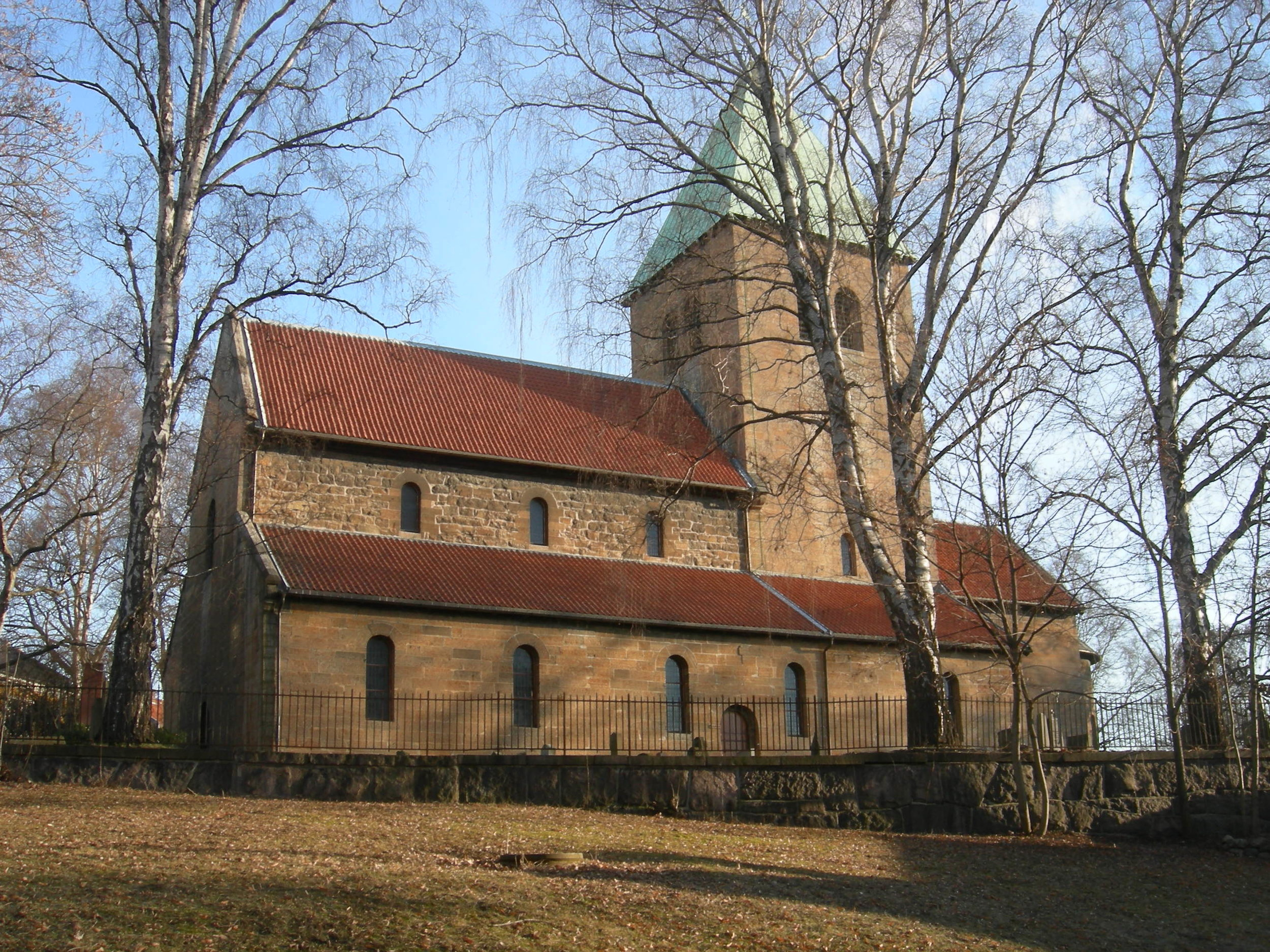 Søndag 24. mars kl. 11.00Gamle Aker kirke -