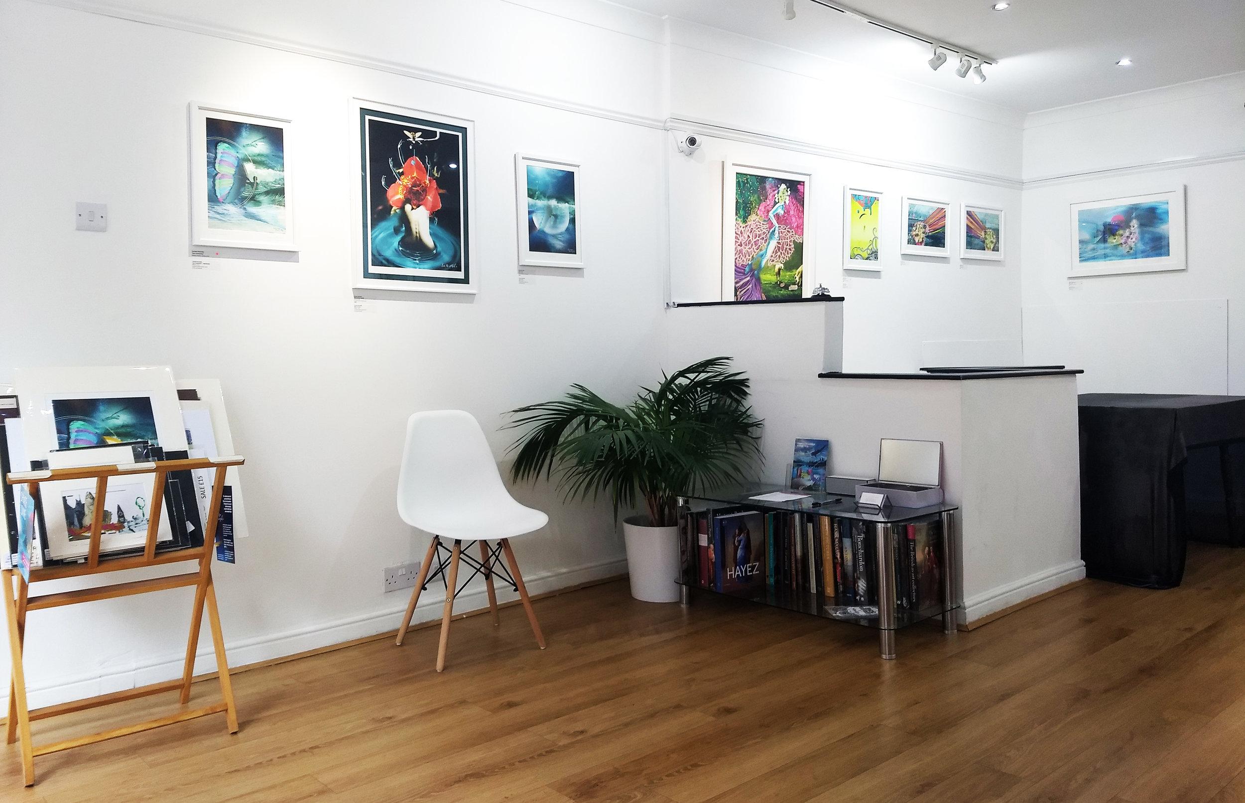 A WORLD OF IMAGINATION - Over 25 artworks on display