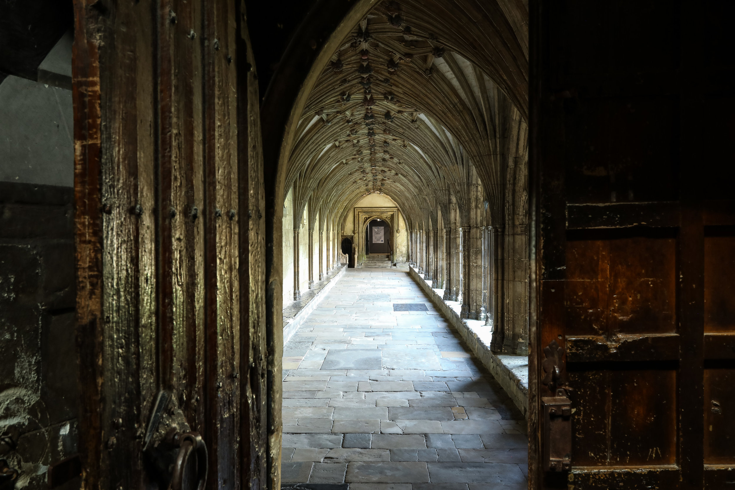 door onto Canterbury great cloister.jpg