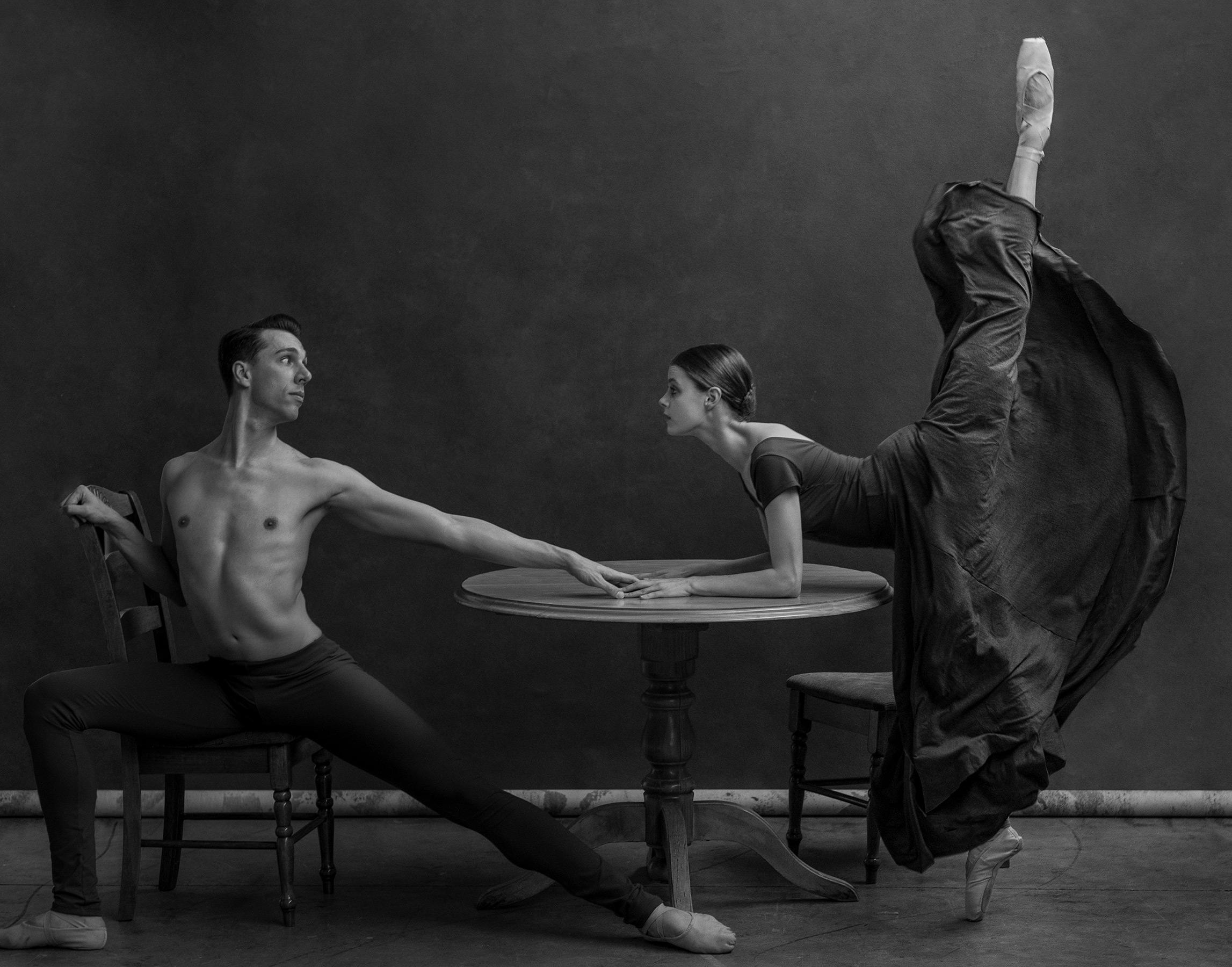Tessa Puttick & Shaughn Pegararo. The National Dance Theatre of Australia. 2018