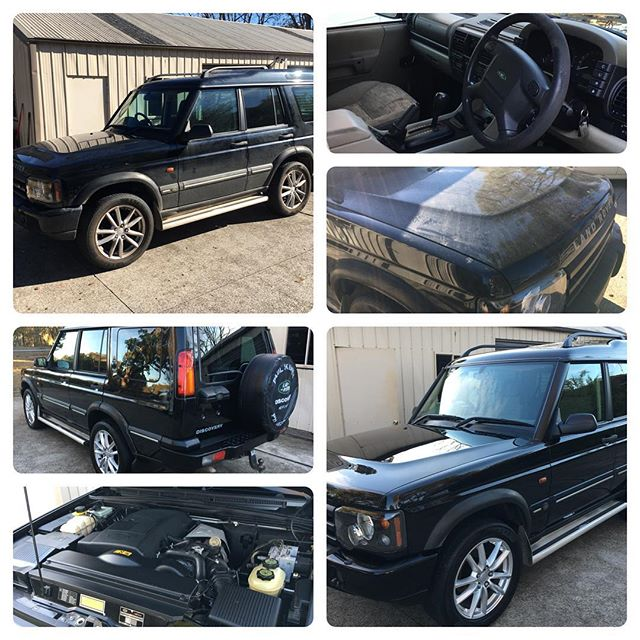 Land Rover Disco looking fresh after a detail today! #landroverdiscovery #landrover #cargeeks #detailersofinstagram #detail