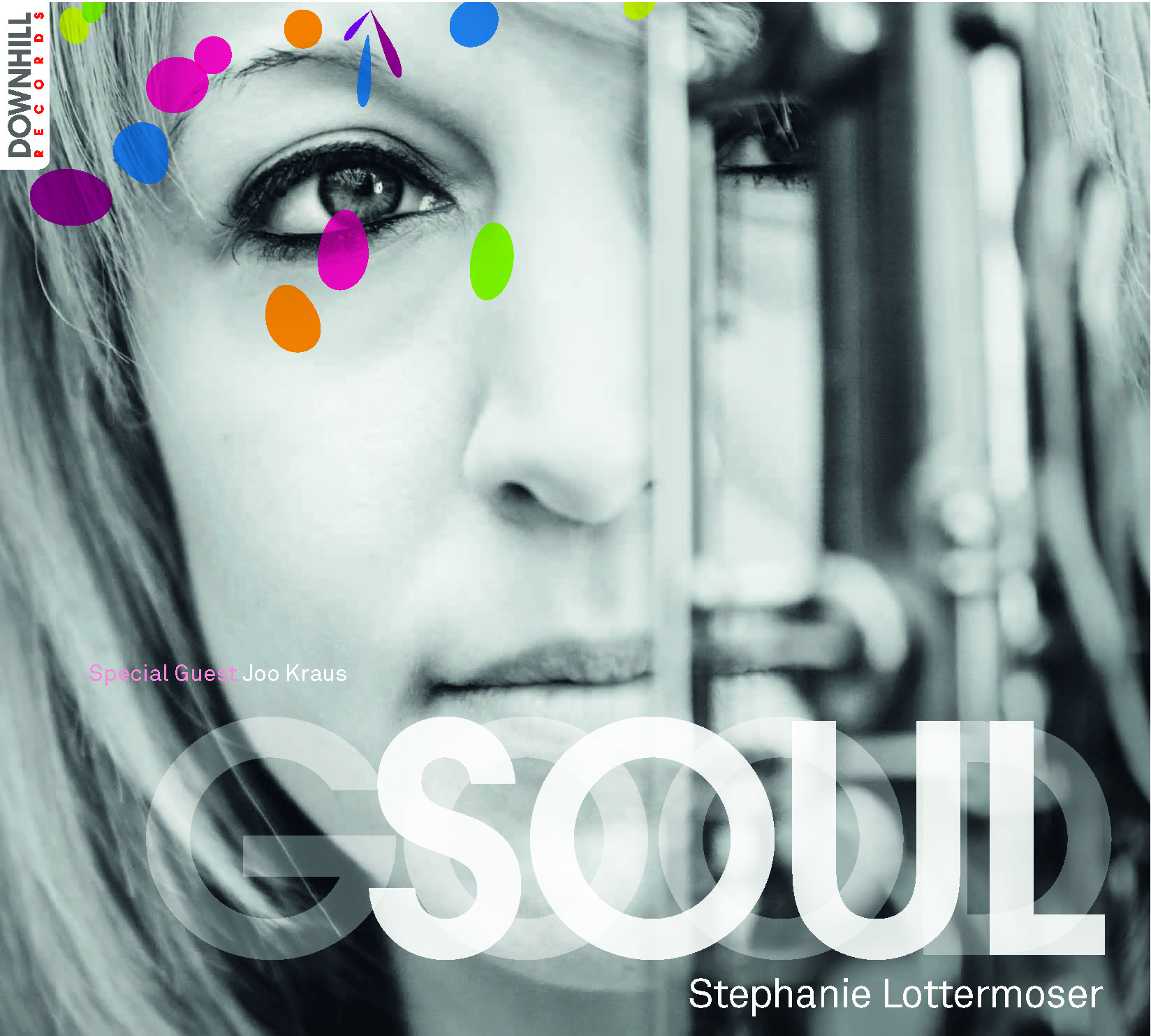 GOOD SOUL (Downhill Records 2013) - 01 Step Ahead - 02 Overjoyed - 03 Prince of Scotland (feat. Joo Kraus) - 04 Chet - 05 Between Three And Five - 06 Good Soul - 07 Natural Woman (feat. Joo Kraus) - 08 Here! - 09 If You Go AwayStephanie Lottermoser (ts, fl, voc, comp/arr), Sebastian Gampl (keys), Sebastian Gieck (b), Magnus Dauner (dr)recorded at Downhill Studios MunichZum Album: Amazon, Spotify, ITunes