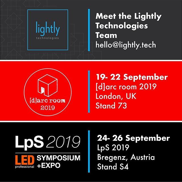 Meet the team behind Hikari: the ultra-thin LED lighting technology platform by @lightlytech . We'll be at @_darc_room in London from 19- 22 September @ledprofessional Symposium (LpS) in Bregenz, Austria, from 24- 26 September.  #darcroom2019 #LpS2019 #lightlytechnologies