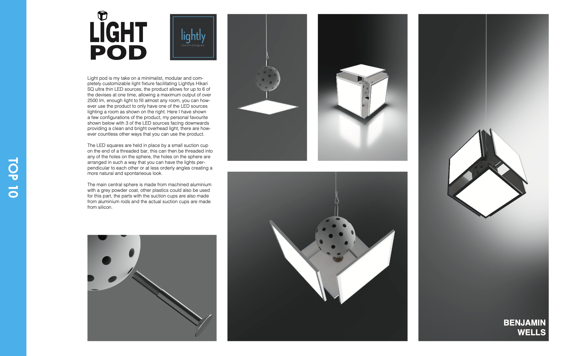 """Light Pod"" by Benjamin Wells"