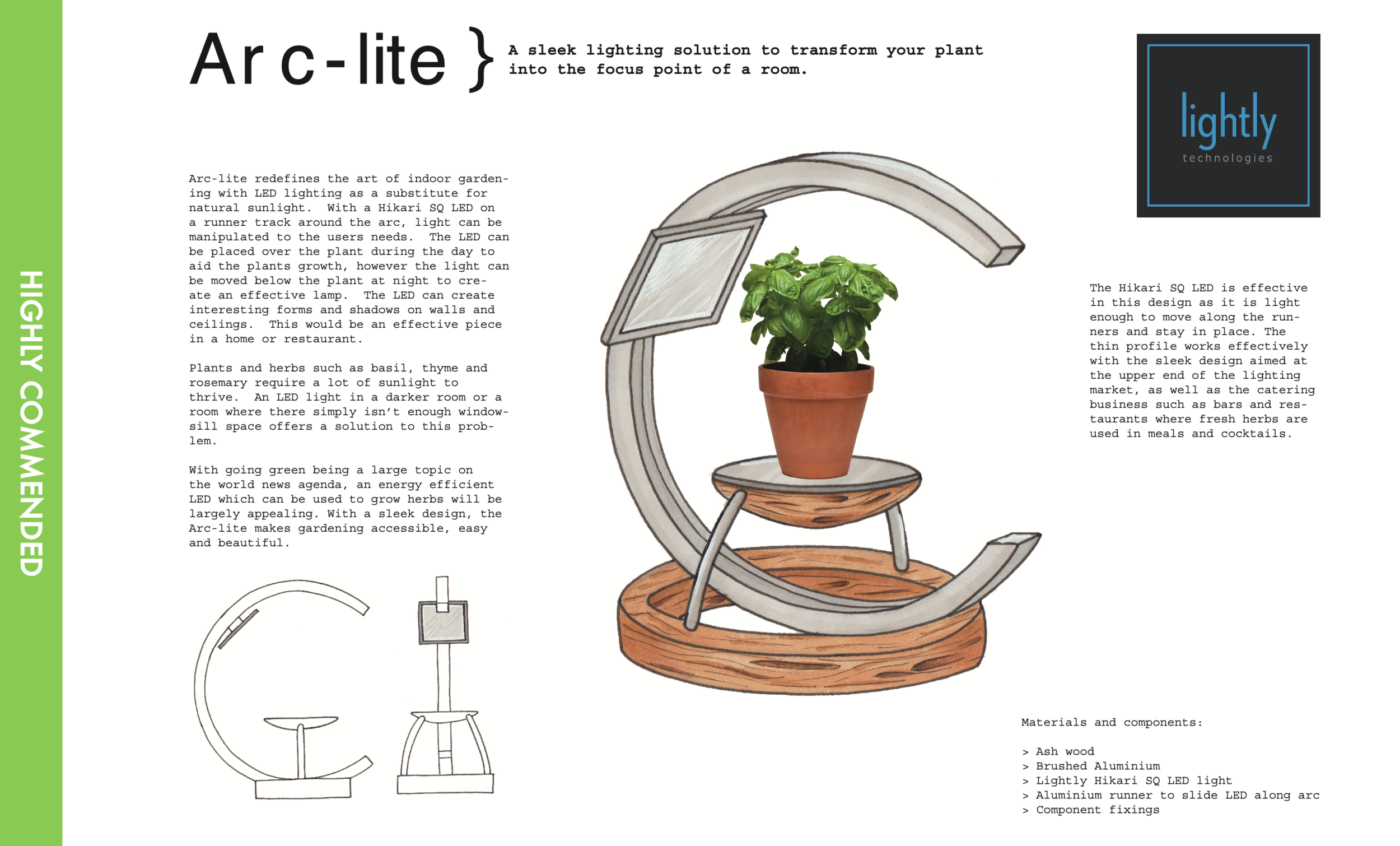 """Arc-Lite"" by Rosina Leftwich-Kallmann"