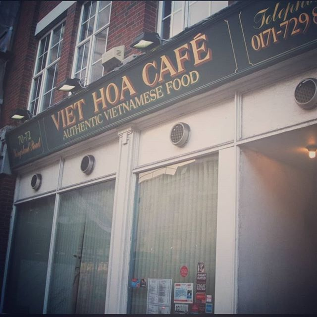 Consistency is what we are all about when it comes to our food! This is a #Throwback, still the same authentic food years later!  #ThrowbackFriday #VietHoa #Vietnamese #Cafe #Restaurant #Fun #Celebrate #London #Life #Old #New #2019