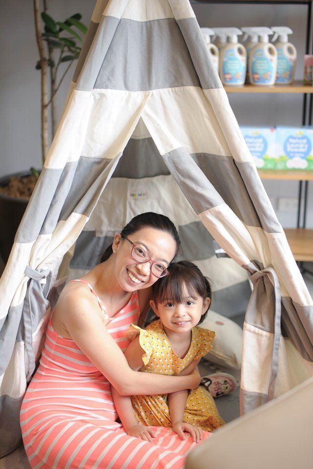 mommyplannerley with arriana at tiny buds.jpg