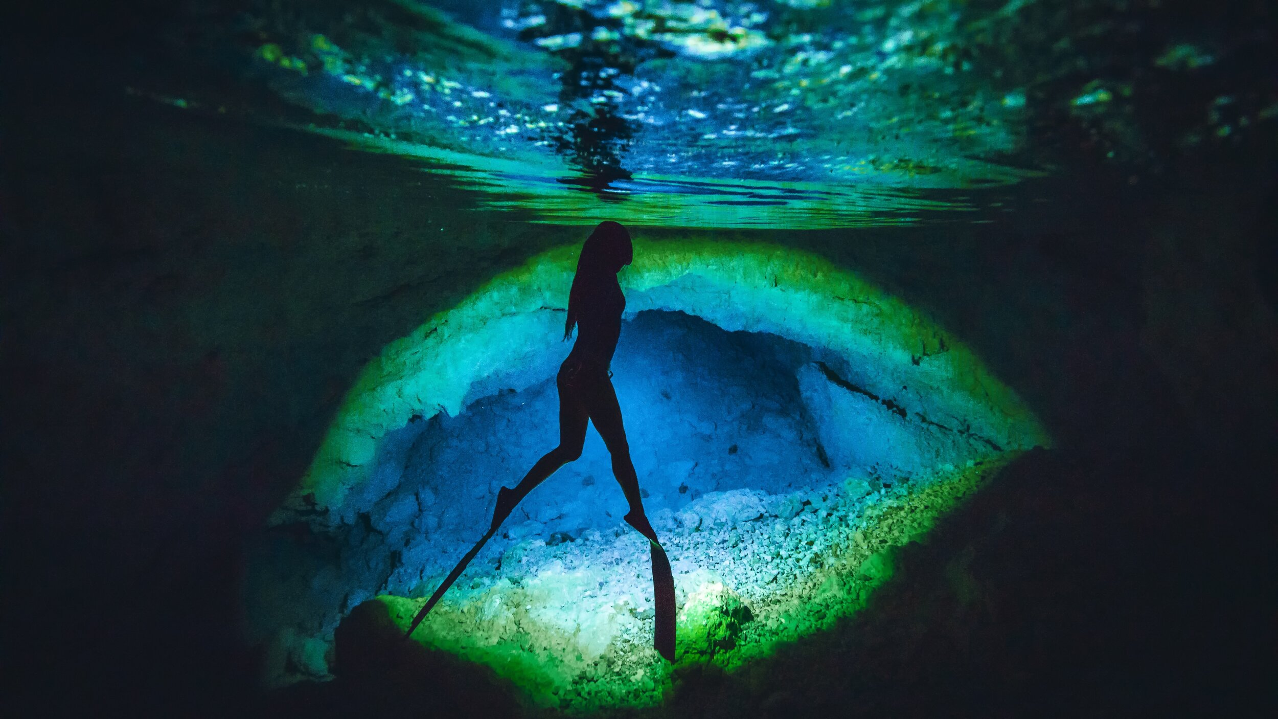Under the sea: scuba diving—just one of the many ocean adventures Guam has to offer!