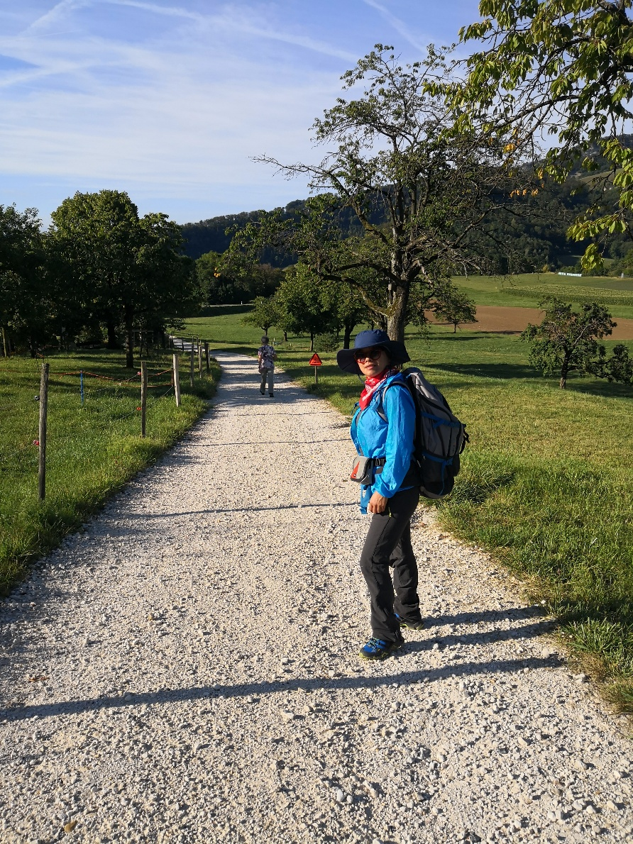 - 2018 Swiss Cross by walk.From Basel to Chiasso330KM ,87hours.17days