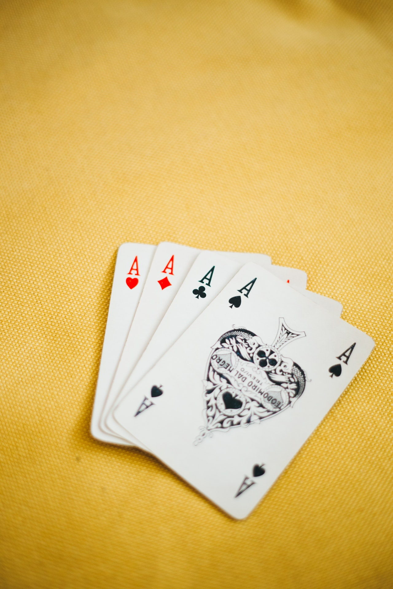 Are you better at making a poker face or reading someone's tell? -