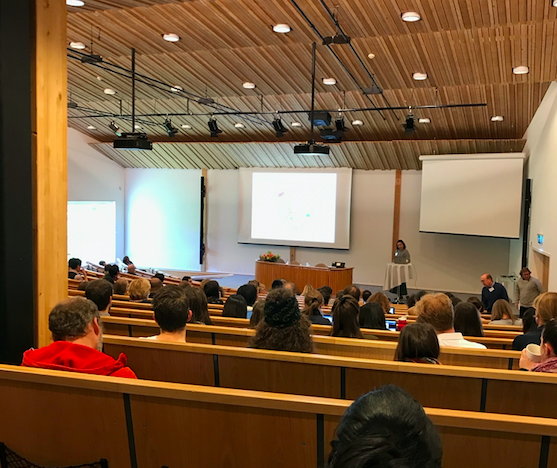 - October 1, 2019StratNeuro Retreat 2019StratNeuro is the strategic research area neuroscience at Karolinska Institutet, Umeå University and KTH for integrating clinical and basic research and to foster a new generation of leaders and scientists in translational neuroscience. Karin Jensen gave a talk at the annual retreat at Sånga Säby, titled: Brain processes underlying the perception of pain.